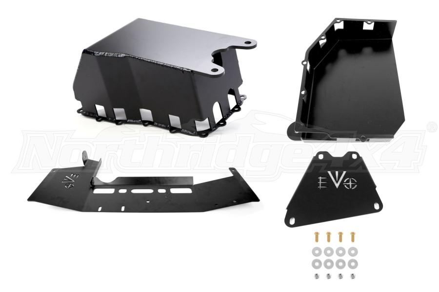 EVO Manufacturing ProTek Skid Plate System Auto Transmission JK 2007-11