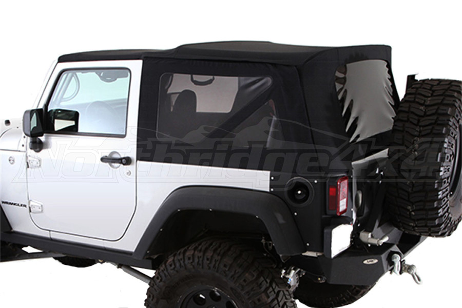 Smittybilt Replacement Soft Top w/Tinted Windows Black Diamond (Part Number:9075235)