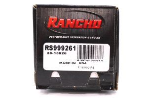 Rancho Performance RS9000XL Series Shock Rear, 4IN Lift Ford Truck (Part Number: )