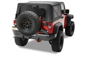 Bestop HighRock 4x4 Rear Bumper w/ Tire Carrier ( Part Number: 42934-01)