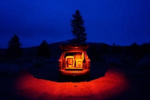 Baja Designs Dome Light w/Switch - Red