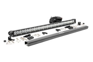 Rough Country 30in Chrome Series Single Row Light Bar (Part Number: )