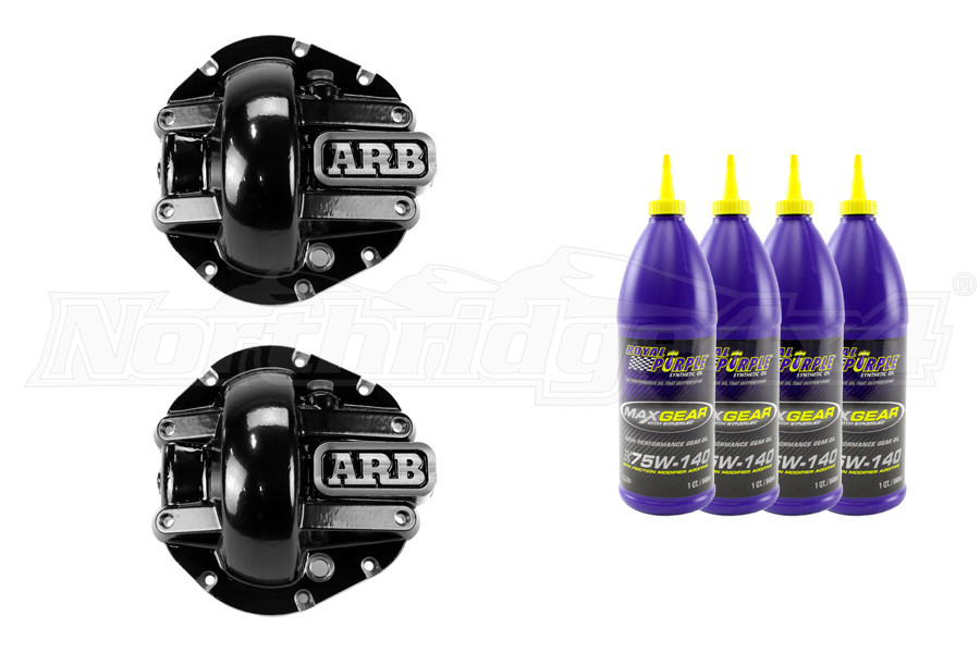 ARB Front and Rear Differential Cover Package