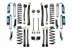 Evo Manufacturing 2.5in Enforcer Stage 4 Lift Kit w/ Comp Adjuster Shocks - JL