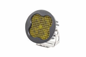Diode Dynamics SS3 Pro, Round - Flood, Yellow