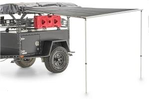 FreeSpirit Recreation 56in Vehicle Awning - Dark Grey