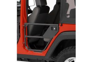 Bestop HighRock 4x4 Element Rear Doors Matte Black   - JK 4dr