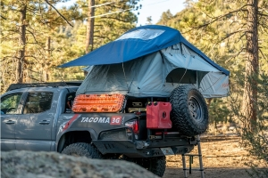 Roam Vagabond Rooftop Tent - Slate Grey/Navy Blue