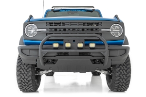 Rough Country Nudge Bull Bar   - Ford Bronco