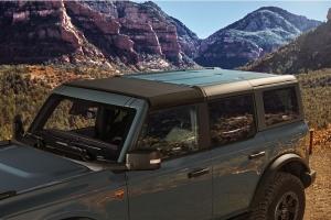 Bestop Sunrider for Hardtop - Black Twill - Ford Bronco 4Dr