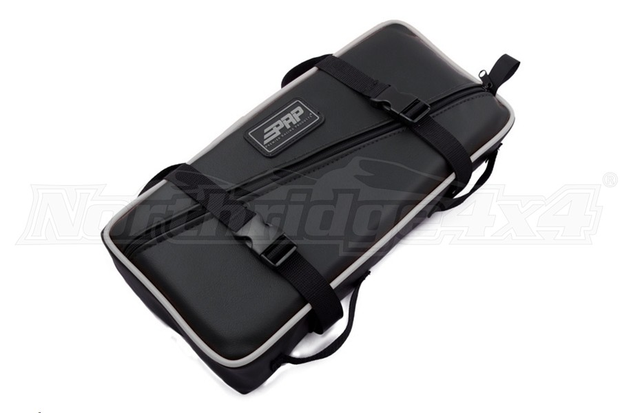 PRP Seats Low Profile Tool Bag Black w/Silver Piping