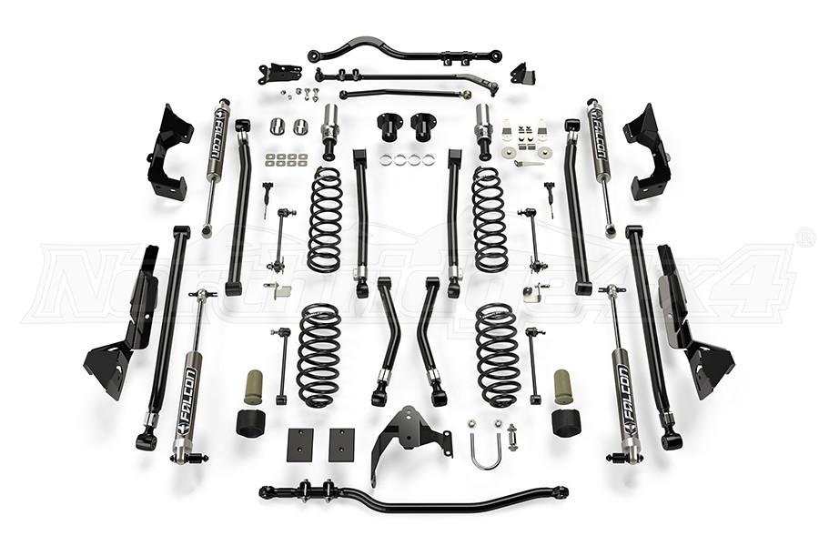 Teraflex Alpine CT6 Suspension System 6in Lift Kit w/ 2.1 Falcon Shocks - JK 4DR