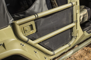 Rugged Ridge Rear Tube Door Covers (Part Number: )