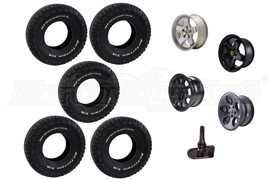 AEV Wheel and BFGoodrich Tire Package JK 2013+ (Part Number:BFG-PACKAGE-2)
