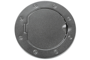 Rugged Ridge Non-Locking Gas Cap Door, Textured Black ( Part Number: 11229.05)