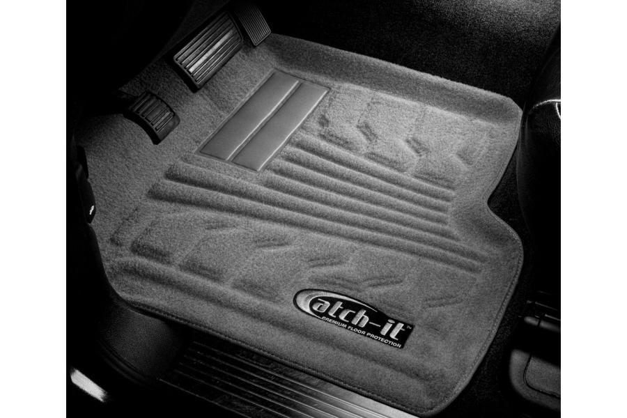 Lund Catch-It Carpet Front Floor Mats, Grey (Part Number:583144-G)