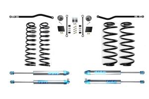 EVO Manufacturing 2.5in Enforcer Stage 1 Plus Lift Kit w/ King Shocks - JL Diesel