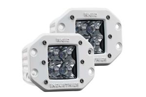 Rigid Industries M-Series Dually Flush Mount Spot Pair (Part Number: )