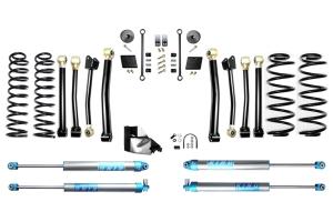 Evo Manufacturing HD 4.5in Enforcer Stage 4 Lift Kit w/ King 2.0 Shocks - JL