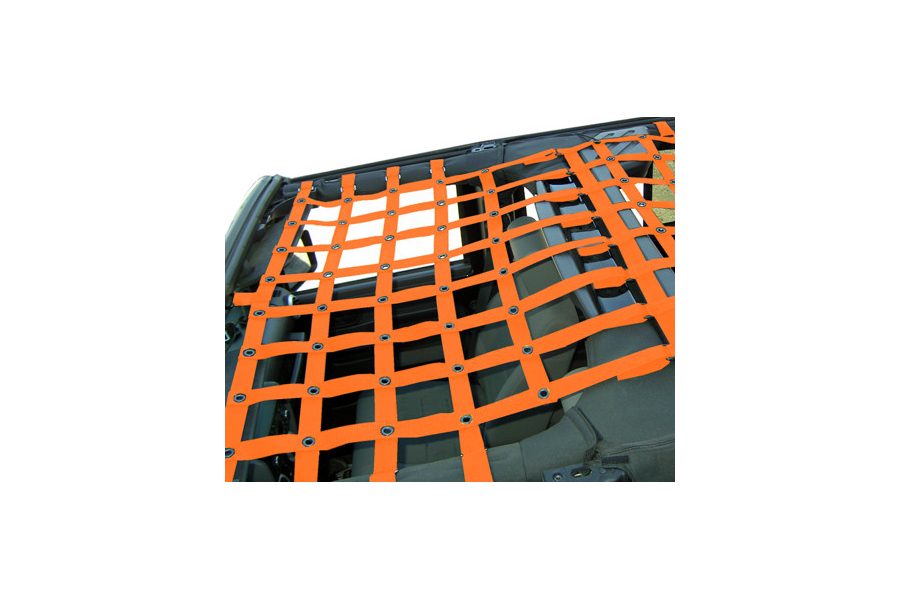 Dirty Dog 4x4 Front Netting Orange (Part Number:J4NN07F1OR)