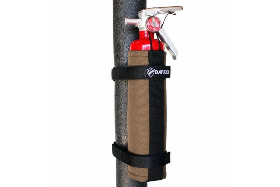 Bartact Roll Bar 2.5LB Fire Extinguisher Holder - Coyote