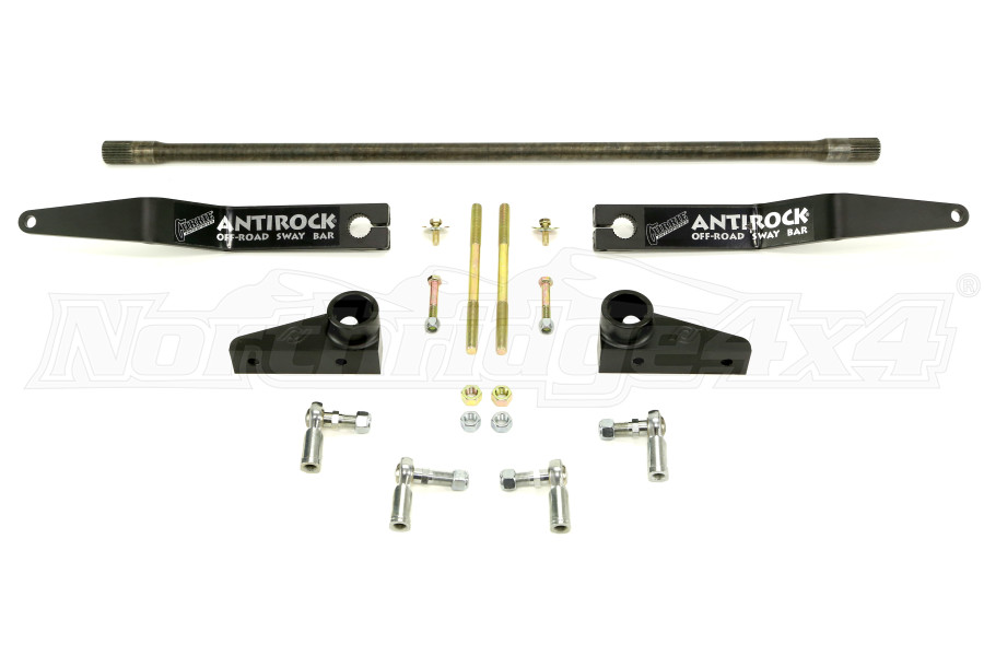 Currie Enterprises AntiRock Front Sway Kit w/ Aluminum Bracks and Steel Arms Front (Part Number:CE-9900JKFA)
