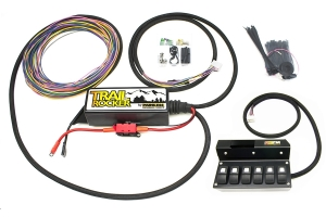 Painless Performance Products Trail Rocker Accesory Control System w/Overhead 6 Switch Box (Part Number: )