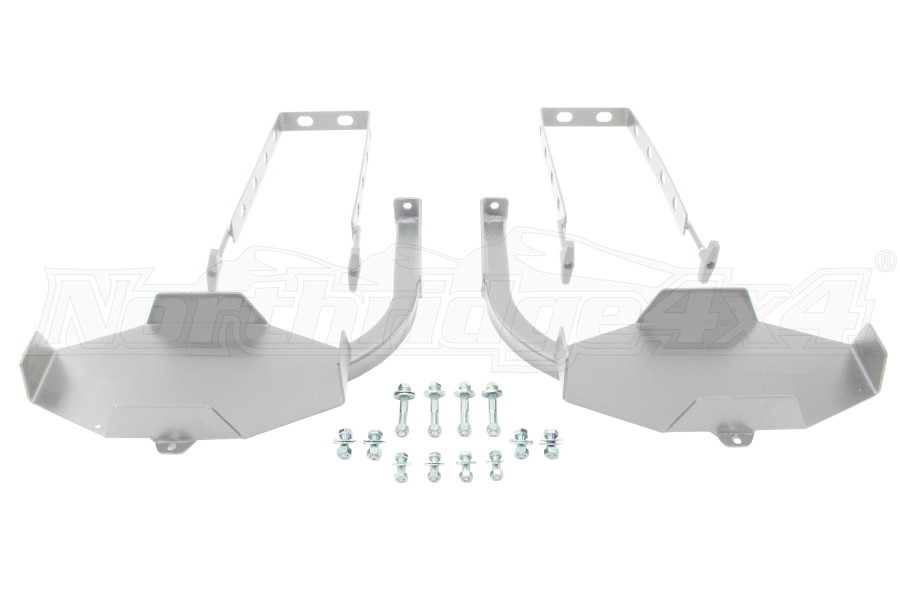 LOD Signature Series Gen 2 Jerry Can Mounts Pair Bare Steel (Part Number:JJC9600)