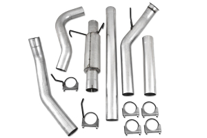 MBRP Performance Series Turbo Back 4in Exhaust System (Part Number: )