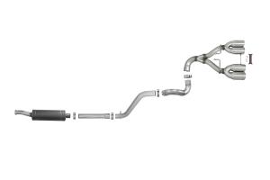 AFE Power Rebel Series 2.5in Cat-Back Exhaust System w/ Polished Tip  - JL 3.6L