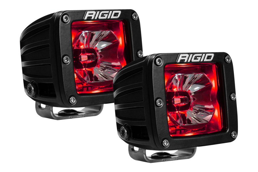 RIGID INDUSTRIES RADIANCE POD RED BACKLIT (Part Number:20202)