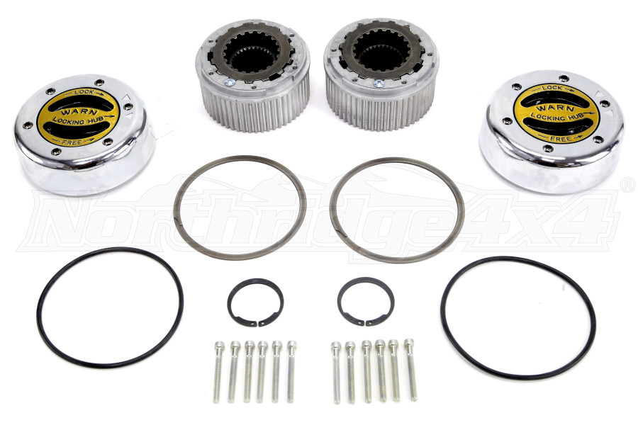 Warn Premium Locking Hubs, Dodge, Chevy, GMC, Ford (Part Number:38826)