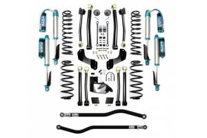 Evo Manufacturing 3.5in Enforcer Overland Stage 4 PLUS Lift Kit w/ Comp Adjuster Shocks - JL