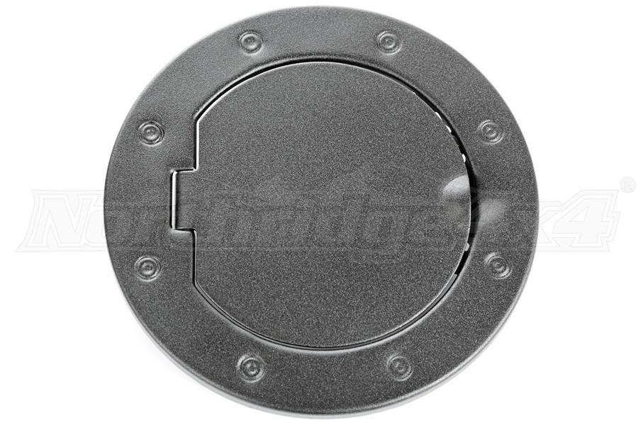 Rugged Ridge Non-Locking Textured Black Gas Cap Door (Part Number:11229.05)