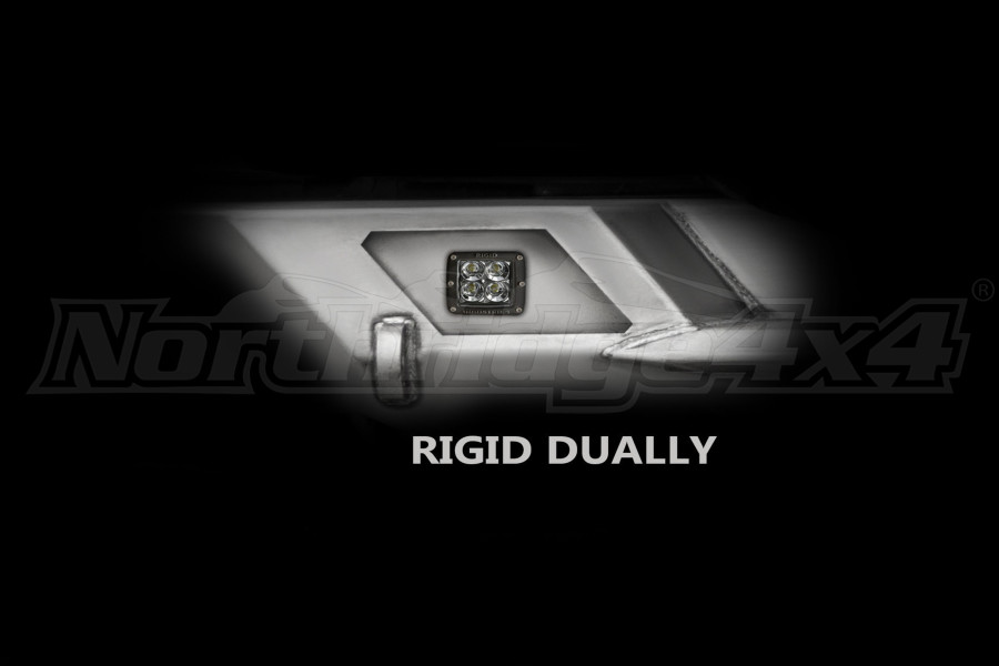 LOD Destroyer Light Bezel Options, Rigid D-Series Dually Light Bare Steel (Part Number:JLB0740)