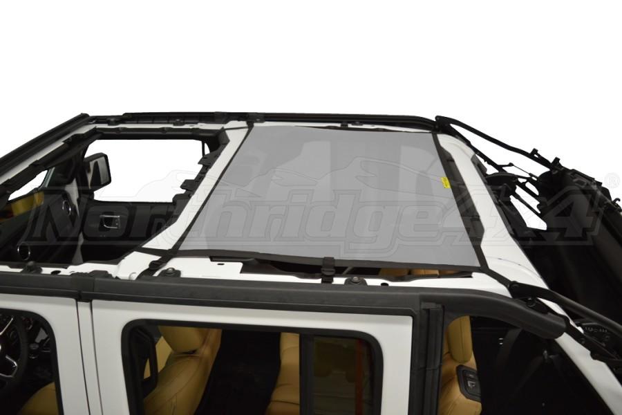 Dirty Dog 4x4 Sun Screen Rear - Grey - JL 4DR