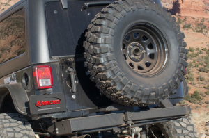 Rancho Performance Rear Bumper with Tire Carrier ROCKGEAR (Part Number: )