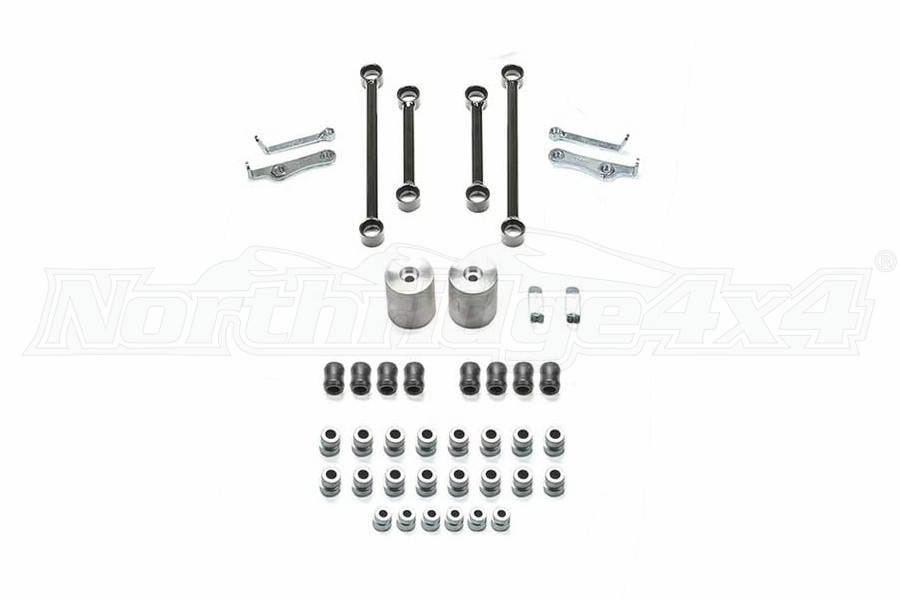 Fabtech 5in Long Arm Component Box Kit - JL