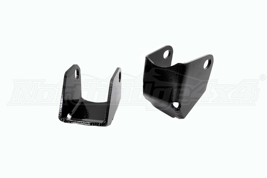 Rough Country Rear Lower Control Arm Skid Plates - Pair - JK