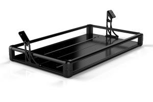 Teraflex JK Rear Utility Cargo Rack - Black (Part Number: )