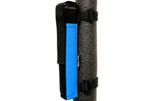 Bartact Extreme Roll Bar Multi-D-Cell Flashlight Holder - Blue