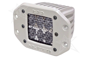 Rigid Industries M-Series Dually D2 Flush Mount Diffused (Part Number: )