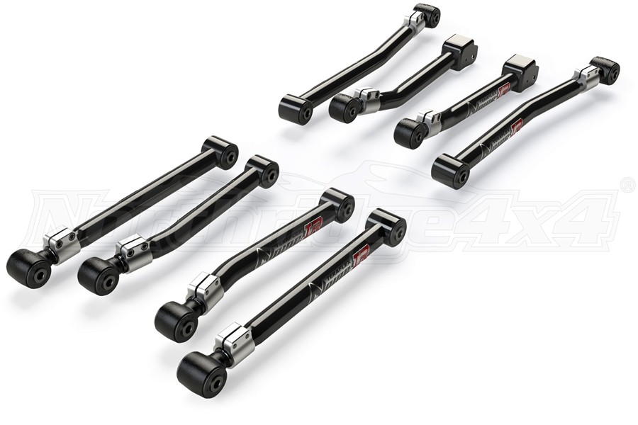 Teraflex Alpine IR Adjustable Control Arms Kit 0-4.5in Lift - JL