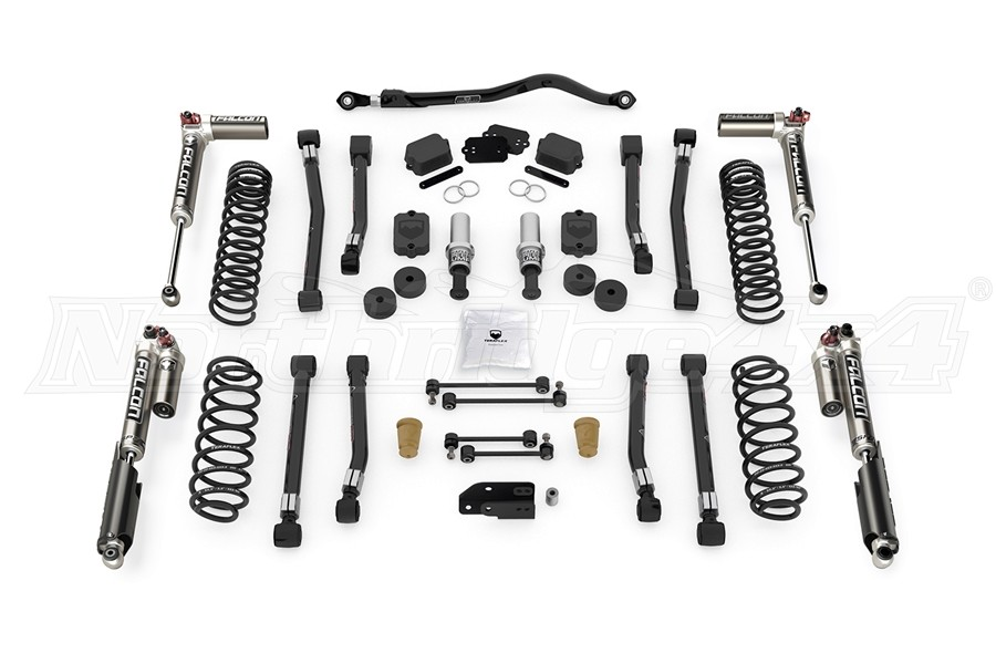 Teraflex 2.5in Alpine RT2 Short Arm Suspension System w/ Falcon SP2 3.3 Shocks - JL 4Dr