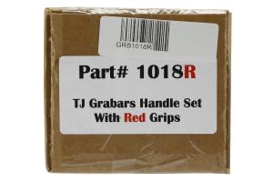WD Automotive Grabars Front Black w/Red Handles - LJ/TJ