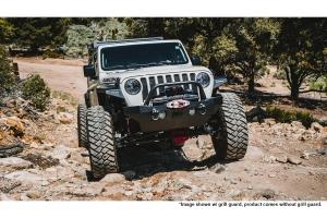 Body Armor Mid-Stubby Front Bumper - Black - JT/JL