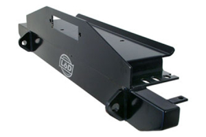 LOD Mid Width Front Winch Bumper Black Powder Coated (Part Number: )