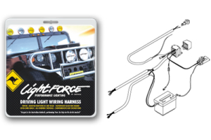 Lightforce Driving Light Wiring Harness w/Switch, 12V Realy and Terminals (Part Number: )