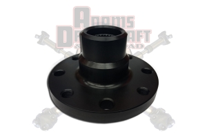 Adams Driveshaft 1350 Series Rear Forged CV Transfer Case Flange 2in Pilot - JT