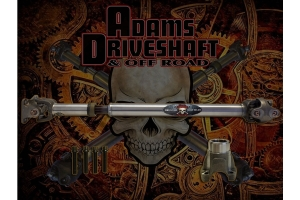 Adams Driveshaft Extreme Duty Series 1310 Solid Front CV Driveshaft with OEM Flange  - JT Sport